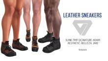 ILLI - [SLink,Signature Gianni,Belleza Jake,Aesthetic,TMP,Adam] Jake Leather Sneakers (HUD Driven) PROMO
