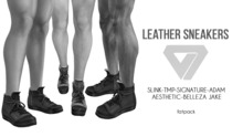 ILLI - [SLink,Signature Gianni,Belleza Jake,Aesthetic,TMP,Adam] Jake Leather Sneakers DEMO