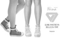 ILLI - [SLink,TMP,Maitreya,Belleza] Nina Canvas Sneakers DEMO