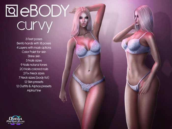 ABAR - eBODY CURVY v8.6 BENTO AVATAR