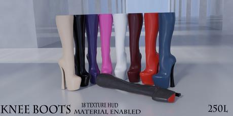Toast - Knee Boots