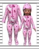 ❤Pat A Kake Kitty Pink Zoot Suit❤