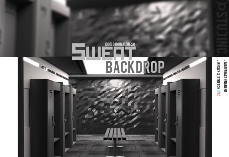 [STUD INC.] - Sweat Backdrop