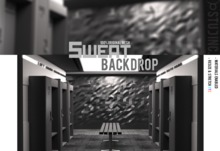 [STUD INC.] - Sweat Backdrop (ADD ME TO UNPACK)