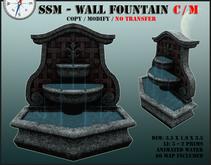 SSM - Wall Fountain - Copy / Modify