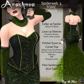 C&F Arachnea 3 - Toxic Green Spiderweb Outfit