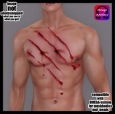 UNISEX Wound Claw Chest Omega
