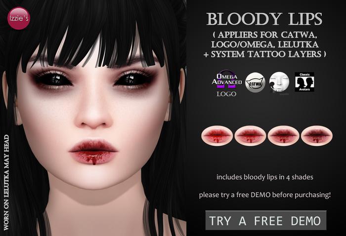 Izzie's - Bloody Lips