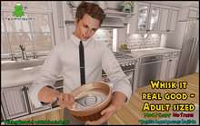 ! Whippersnappers ! - Whisk it real good - Adult sized