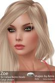 Zoe Shape by Anna for Catwa Heads Catya, Lona, Sofia & more