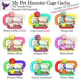 [ free bird ] My Pet Hamster Cage - Pretty in Pink RARE