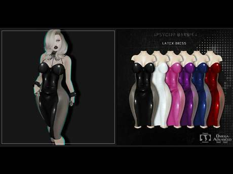 +Psycho Barbie+ [Latex Dress]
