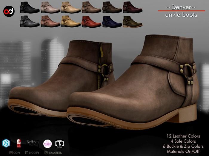 A&D Clothing - Shoes -Denver-  FatPack