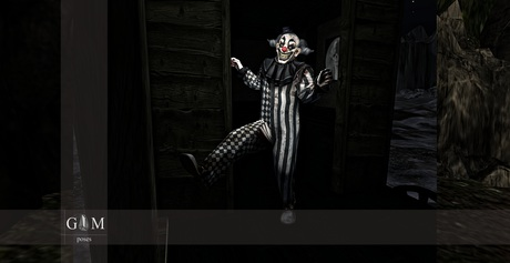 +gemposes+ - Creepy clown - [ADD-HUD] -