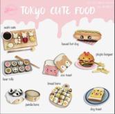*Tentacio* Tokyo cute food Complete Set
