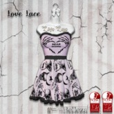 ::LL:: Dead Inside Dress // Purple {BOXED}