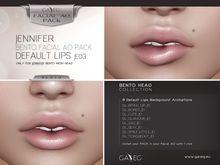 [GA.EG] Jennifer Bento Facial AO Pack - JE03 Default Lips