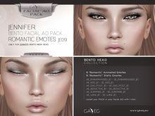 [GA.EG] Jennifer Bento Facial AO Pack - JE09 Romantic Emotes