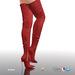 [Gos] Boutique - Ariana Thigh High Boots - Carmine