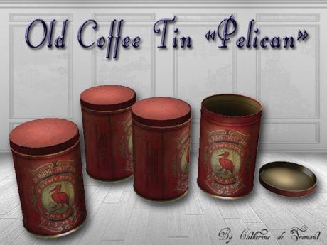 """CdT"" Coffee Tin ""Pelican"""
