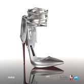 [Gos] Boutique - Dulce Pumps - Silver