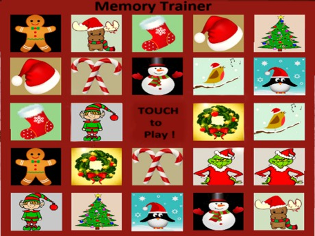 *TWO* Xmas Memory Game (Concentration Game)