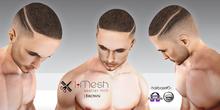 i.mesh - Hairbase#5 BROWN (hud) - CATWA/OMEGA/BOM