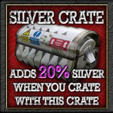 Buildables: +20% SILVER crate v2.21