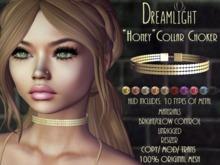 "[Dreamlight] ""Honey"" Collar Choker"