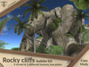 Rocky cliffs builder kit (8 models & 3 textures).:JC:.