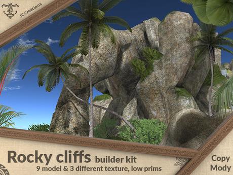 Rocky cliffs builder kit (8 models & 3 textures).:JC:.