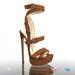 [Gos] Boutique - Gigi Sandals - Tan Suede
