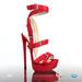 [Gos] Boutique - Gigi Sandals - Red Suede