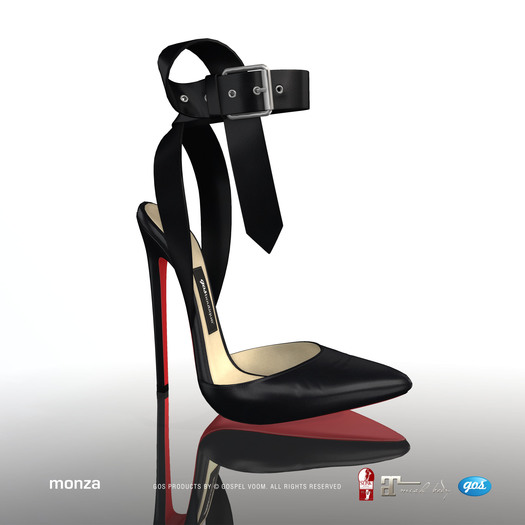 [Gos] Boutique - Monza Pumps - Black
