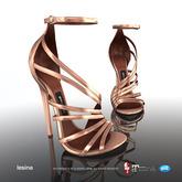 [Gos] Boutique - Lesina Sandals - Rose Gold