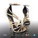 [Gos] Boutique - Lesina Sandals - Gold