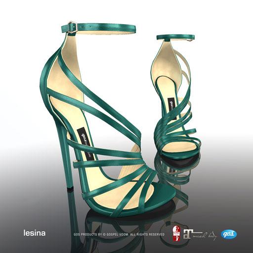 [Gos] Boutique - Lesina Sandals - Emerald