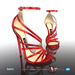 [Gos] Boutique - Lesina Sandals - Crimson