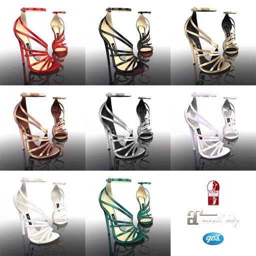 [Gos] Boutique - Lesina Sandals - Collection