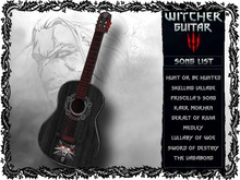 Witcher Guitar