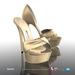 [Gos] Boutique - Lauren d'Orsay - Gold