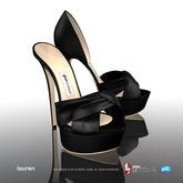 [Gos] Boutique - Lauren d'Orsay - Black