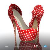 [Gos] Boutique - Mae Platform - Polka Dot