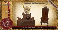 ALESTA << Mesh Satanic Throne Full Perm