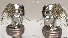 Eudora3D Sigrun Headpiece Gold / Boxed