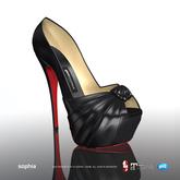 [Gos] Boutique - Sophia Peeptoe - Black