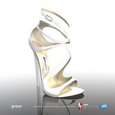[Gos] Boutique - Grace Sandals - White