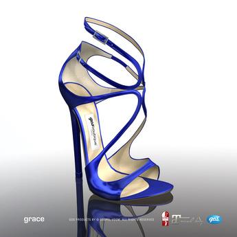 [Gos] Boutique - Grace Sandals - Electric Blue