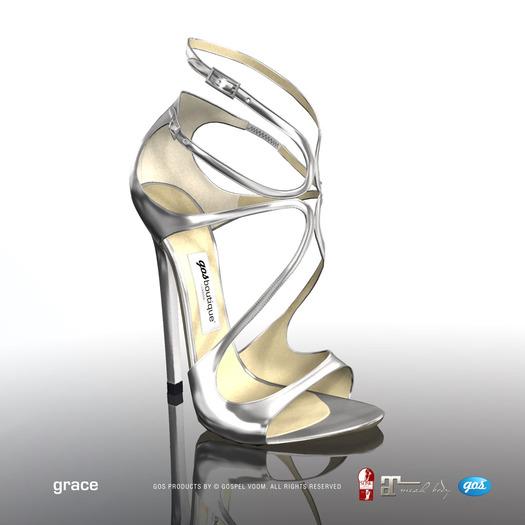 [Gos] Boutique - Grace Sandals - Mirror