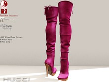 ::HH:: Hucci Dangriga Boot - PinkYarrow
